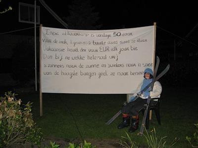 Tekst Spandoek 50 Jaar