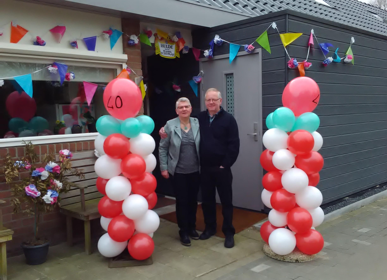 40 jaar getrouwd robijn
