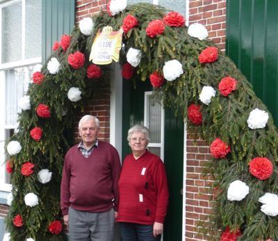 40 jaar getrouwd versieringen Gerrit en Dika 40 jaar getrouwd   Maarkelsnieuws.nl 40 jaar getrouwd versieringen